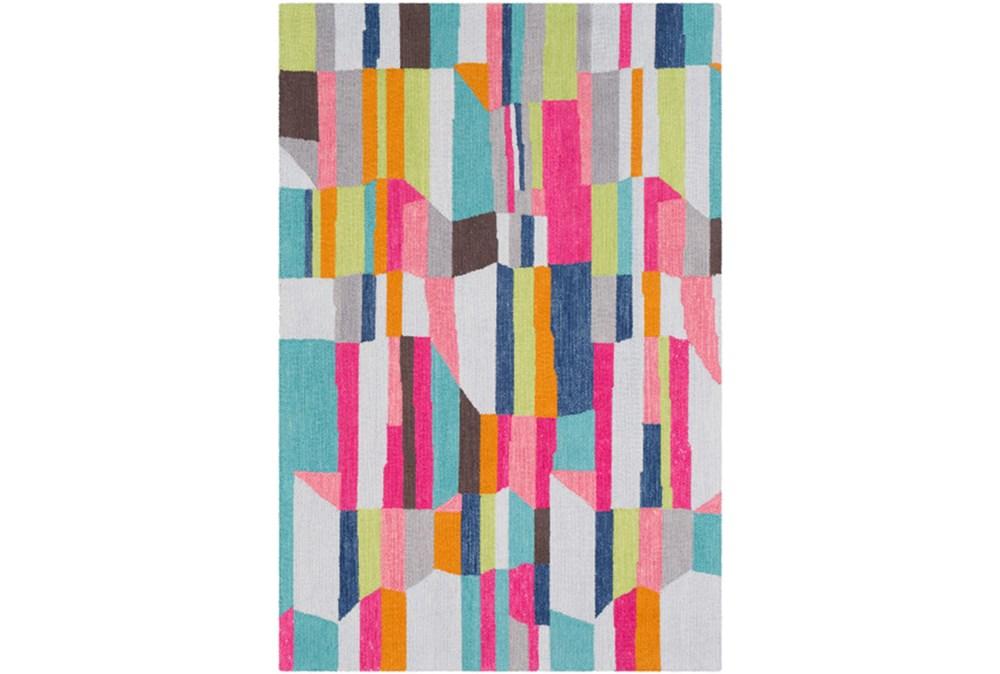 60X90 Rug-Wool Summer Abstracts