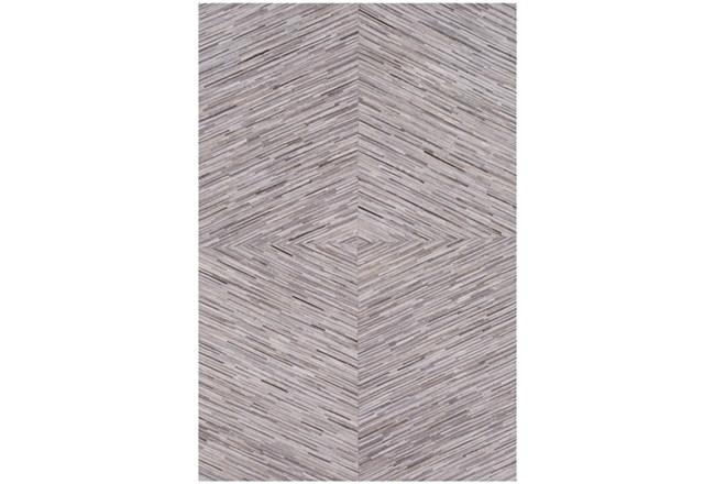 60X96 Rug-Diamond Hair On Hide Taupe - 360