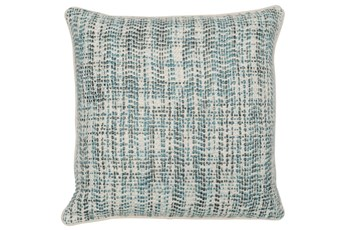 Accent Pillow-Mallard And Ivory Tweed 22X22