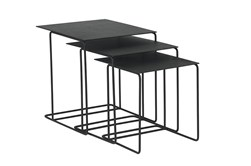 Magnolia Home Traverse Carbon Nesting End Tables By Joanna Gaines