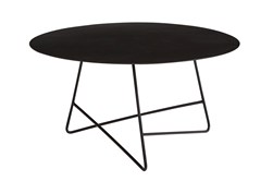 Magnolia Home Traverse Carbon Round Coffee Table By Joanna Gaines