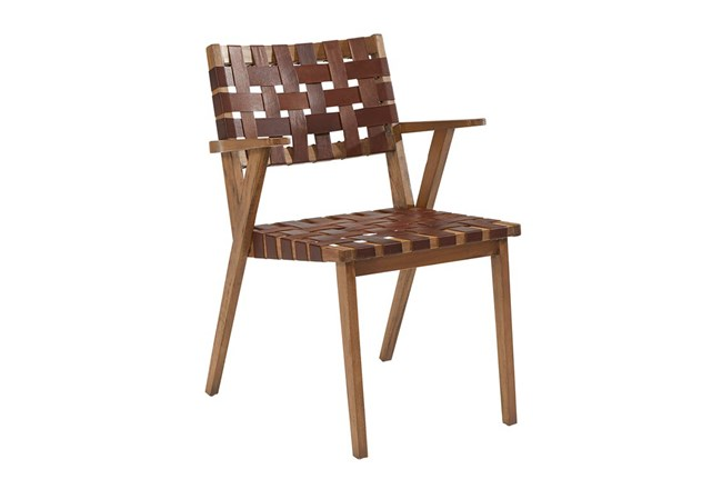 Magnolia Home Tanner Dining Side Chair By Joanna Gaines - 360