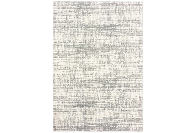 94X130 Rug-Distressed Soft Shag Ivory/Grey - 360