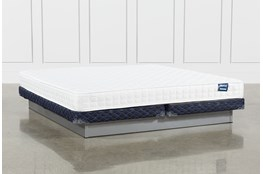 Kit-Revive Series 2 Cal King Mattress With Low Profile Foundation