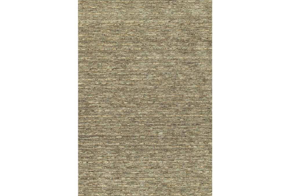 108X156 Rug-Wool Striations Fudge