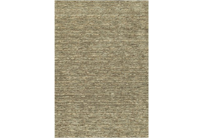 108X156 Rug-Wool Striations Fudge - 360