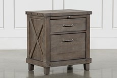 "Jaxon Grey 28"" Nightstand"
