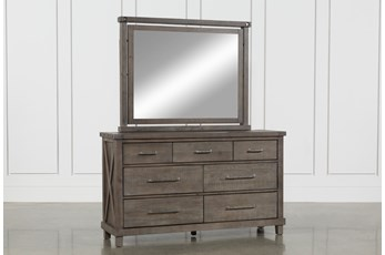 Jaxon Grey Dresser/Mirror