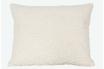 Accent Pillow-Sheepskin Natural 18X22 By Nate Berkus and Jeremiah Brent