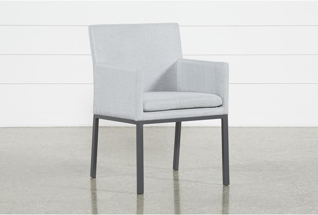 Ravelo Outdoor Upholstered Dining Side Chair - 360