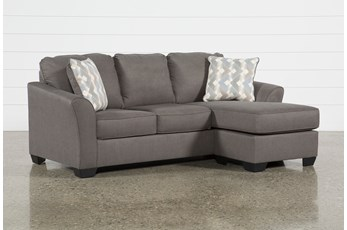 "Tucker 89"" Sofa With Reversible Chaise"