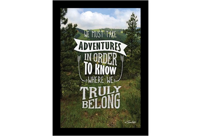 Picture-We Must Take Adventures 26X22 - 360