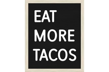 Picture-Eat More Tacos 22X18