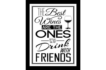 Picture-The Best Wines Are 26X20