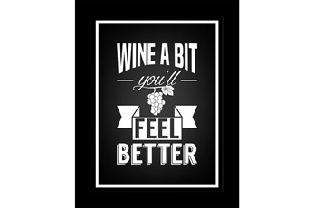Picture-Wine A Bit 18X14
