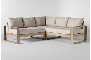 "Malaga Outdoor 3 Piece 90"" Sectional"