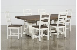 Brentwood Rectangle 7 Piece Dining Set