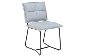 Blue Grey Dining Chair
