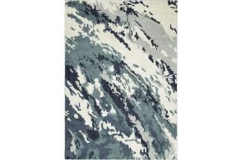 61X89 Rug-Galaxy Swirl Denim