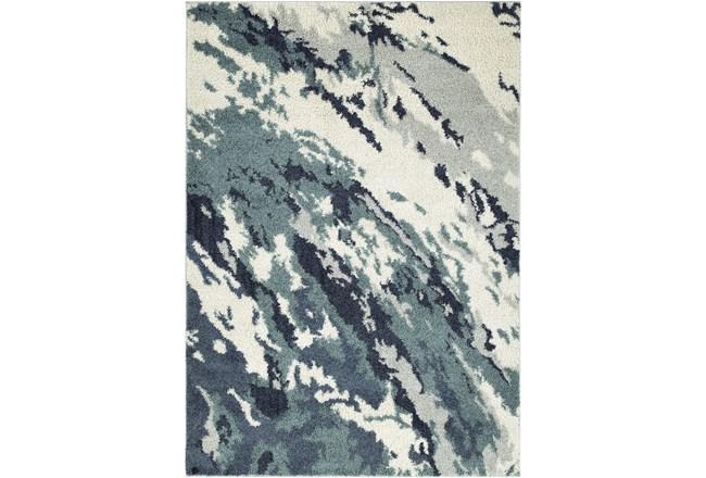 96X120 Rug-Galaxy Swirl Denim - 360