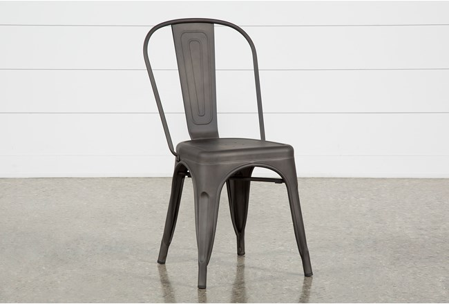 Delta Bronze Dining Side Chair - 360