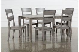 Matias Grey 7 Piece Dining Set