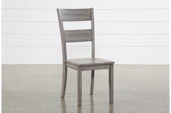 Matias Grey Side Chair