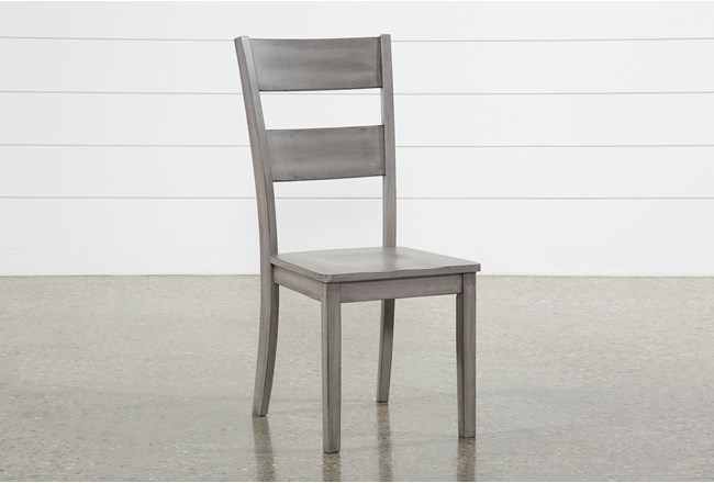 Matias Grey Side Chair - 360