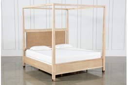 Gramercy Queen Canopy Bed By Nate Berkus And Jeremiah Brent