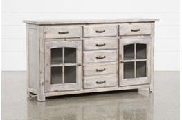 Jamestown Grey 62 Inch Cabinet