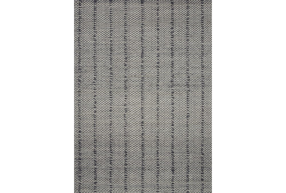 60X90 Rug-Magnolia Home ElIIston Charcoal By Joanna Gaines