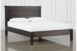 Larkin Espresso Queen Panel Bed