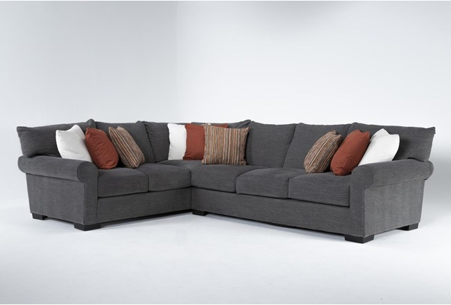 "Aurora II 2 Piece 137"" Sectional With Right Arm Facing Sofa - 360"