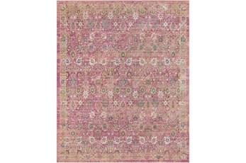 108X157 Rug-Gypsy Border Bright Pink