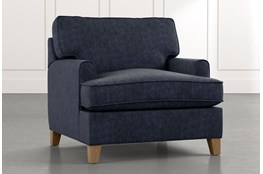 Emerson II Navy Blue Chair