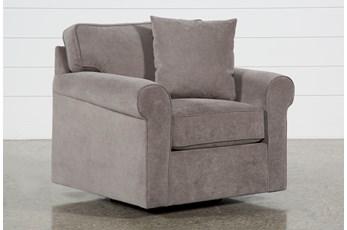 Elm II Foam Swivel Arm Chair