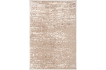 94X126 Rug-Aged Crosshatch Taupe