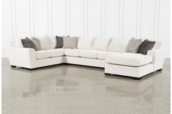 "Delano Pearl 3 Piece 169"" Sectional With Right Arm Facing Chaise"