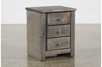 "Summit Grey 26"" Nightstand"