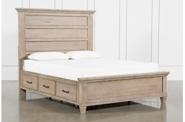 Meridian Queen Panel Bed With Storage