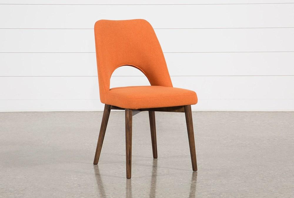 Zuma Orange Dining Side Chair
