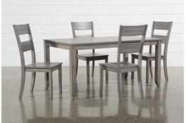 Matias Grey 5 Piece Dining Set