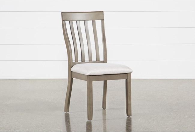 Rancho Grey Side Chair - 360