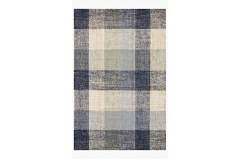 42X66 Rug-Magnolia Home Crew Blue/Multi By Joanna Gaines