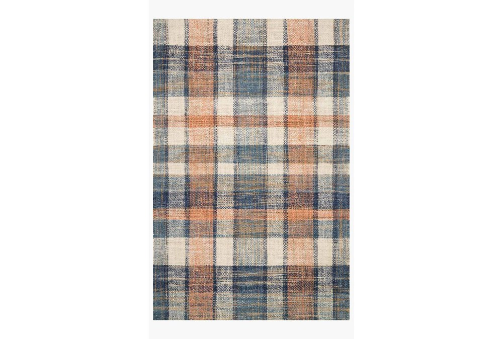 60X90 Rug-Magnolia Home Crew Terracotta/Multi By Joanna Gaines