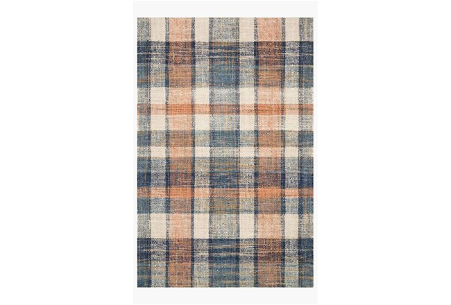 60X90 Rug-Magnolia Home Crew Terracotta/Multi By Joanna Gaines - 360