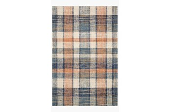 93X117 Rug-Magnolia Home Crew Terracotta/Multi By Joanna Gaines