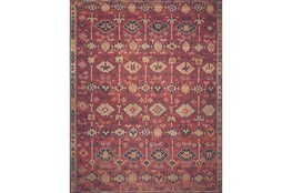27X45 Rug-Magnolia Home Lucca Brick/Multi By Joanna Gaines