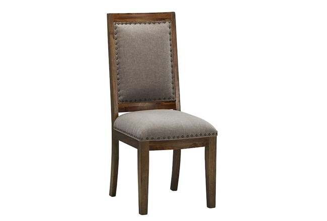 Wood Upholstered Dining Chair - 360