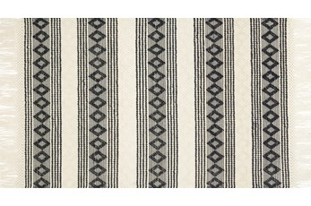 60X90 Rug-Magnolia Home Holloway Ivory/Black By Joanna Gaines